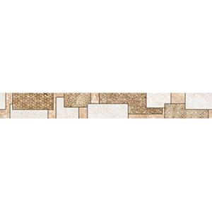 VIKING бордюр вертик бежевый   7×60
