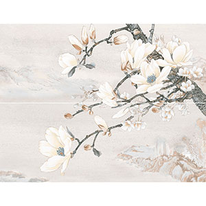 DOLORIAN декор-панно серый   46×60