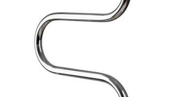 Рушникосушка Змійка 25  525х400/500 з кільцями