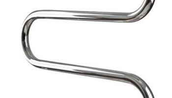 Рушникосушка Змійка 30  530х600/500 з кільцями