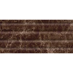 EMPERADOR стена коричневая темная  рельеф  23×50