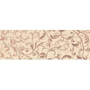 Зебрано крем орнамент фриз 45×14,9