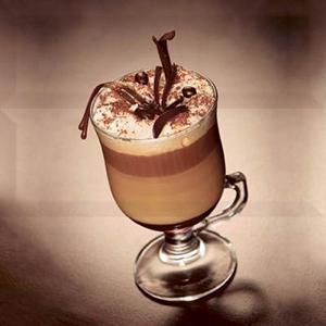 COFFEE CAPUCCINO  Marron Composicion 30 x 30