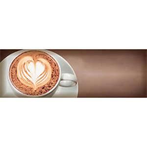 COFFEE CAPUCCINO  Marron A Decor 10 x 30