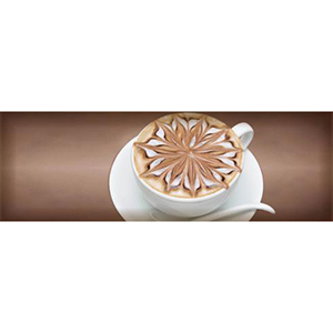 COFFEE CAPUCCINO  Marron B Decor 10 x 30