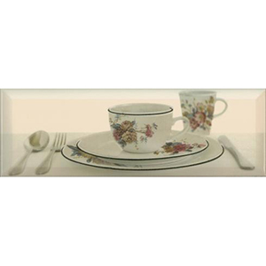 TEA 03 CREAM B Decor 10 x 30