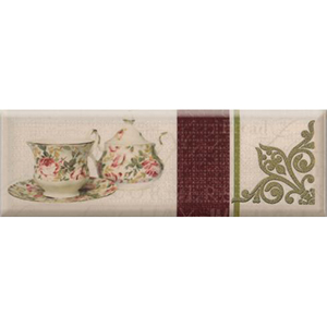 TEA FLOWERS  03 Decor 10 x 30