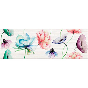 Elegant stripes inserto flower 25X75