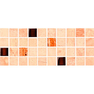 Sahara беж мозаїка фриз 11,7×29,5