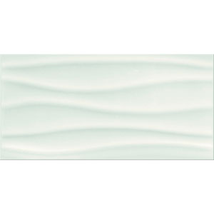 White glossy structure 29,7X60