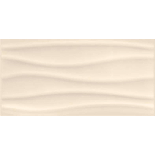 BEIGE GLOSSY WAVE STRUCTURE 29,7X60 G1