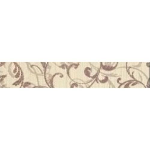 Зебрано крем орнамент фриз 30×5,4