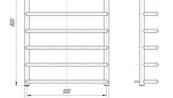 Рушникосушка Стандарт 800х530/500