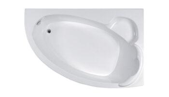"""Асиметричная ванна """"Стелла"""" Л/П 1700X1100"""
