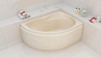"Асиметричная ванна ""Ярослава""Л/П 1500X1000"