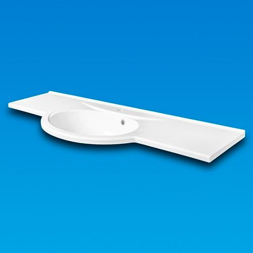 Раковина меблева LENA 1400X500 (1414101)