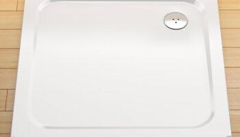 Піддон PERSEUS PRO-80 Chrome Білий