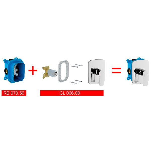 CL 066.00 Classic Змішувач прихов монт R-box