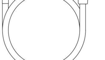 913.02 Душовий шланг 200 см SatinFlex пластик
