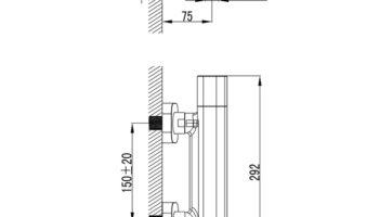 TD 033.00/150 Термостат душовий змішувач 10°