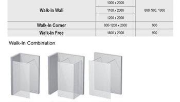 Комплект Walk In Wall-90+тримач