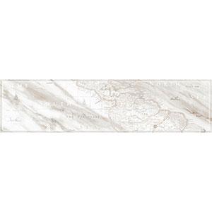 СARRARA бордюр напольный серый   15х60