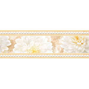 ELEGANCE бордюр широкий бежевый   23×9,5