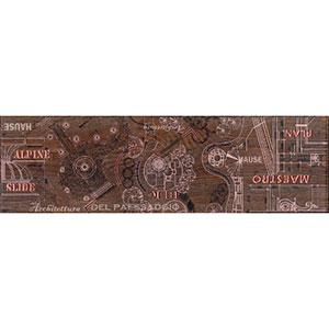 PANTAL бордюр наполь красно-корич   15х50