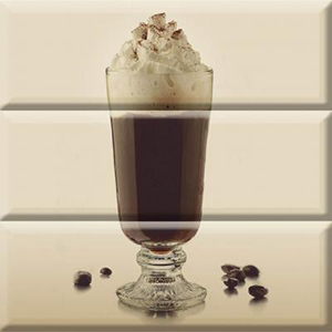 COFFEE GLASS Composicion 30 x 30