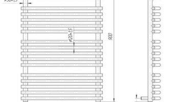 Рушникосушка Преміум Маріо 900х560/500