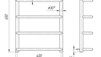 Рушникосушка Стандарт НР 650х430/400