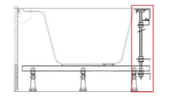 Кріплення д/панелі Rosa 95універсальне
