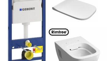 Комплект: инсталляция Geberit Duofix , унитаз Kolo Modo Rimfree, сиденье дюропластовое Soft-close