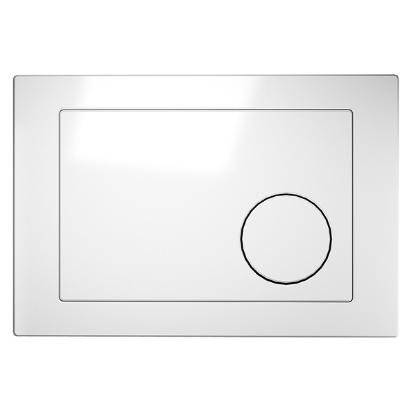 Кнопка інст. система LINK коло біла