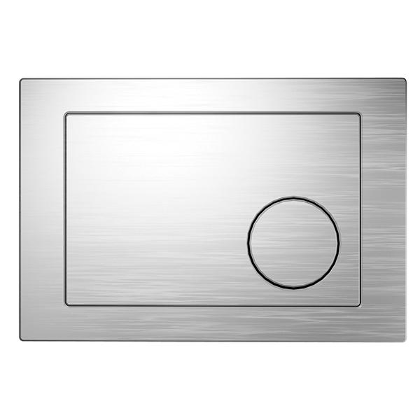 Кнопка інст. система LINK круг хром матова