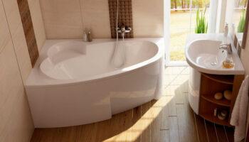 Ванна Asymmetric