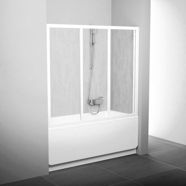 Штора для ванни AVDP3- 170 Білий RAIN