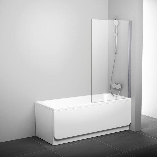 Штора нерухома для ванни PVS1-80 Білий TR