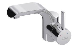Змішувач для умивальника LUVIO з донним клапаном click-clack